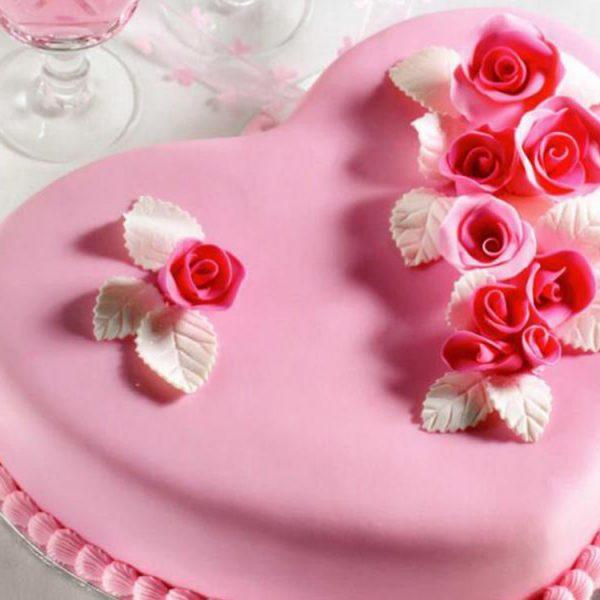 Мастика сахарная Паста для обтяжки PASTA DI ZUCCHERO DA COPERTURA Rosa Паста ди Цуккеро да Копертура РОЗА розовая_торт