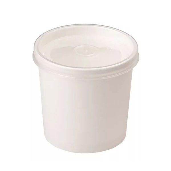 Упаковка для супа Эконом белая