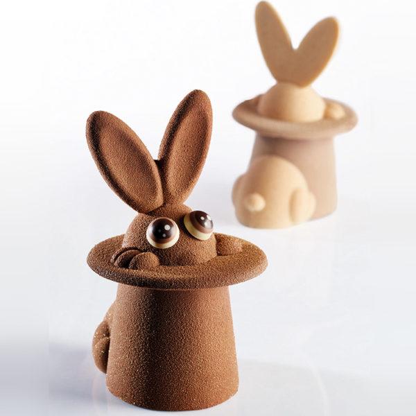 Форма для шоколада KT154-MAGIC_BUNNY