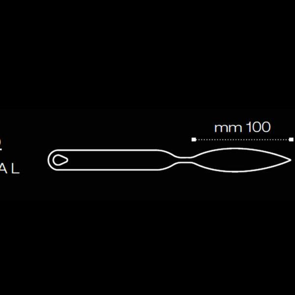 Инструмент для изготовления декора из шоколада CH9 100x24