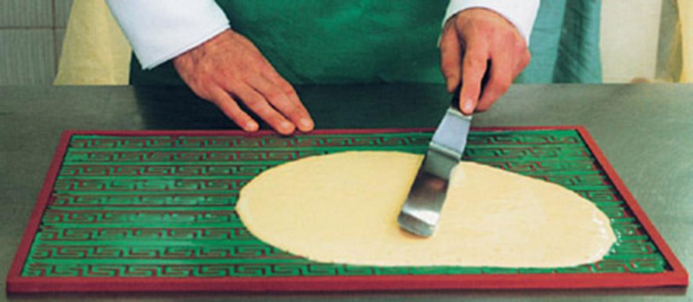 Использование бордюрного коврика для декора 2