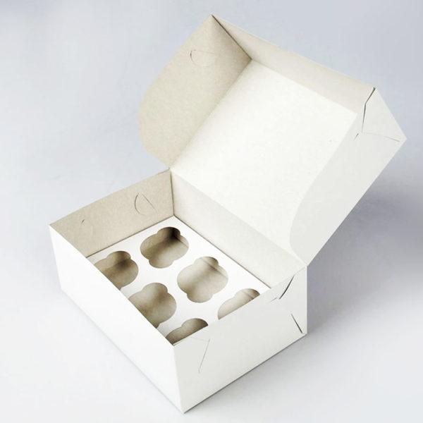 Короб для капкейков 6