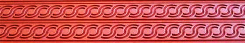 Коврик силиконовый бордюрный для мастики 400?600 TB02 узор