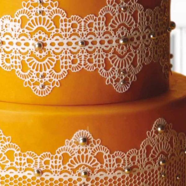 Коврик силиконовый для кружевного декора (айсинга) 300x400 TMD01-torta_2