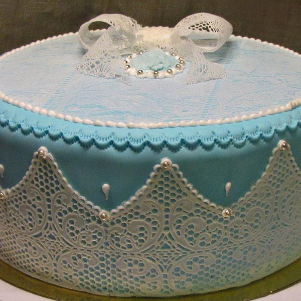 Коврик силиконовый для кружевного декора (айсинга) 400x200 TRD05-торт
