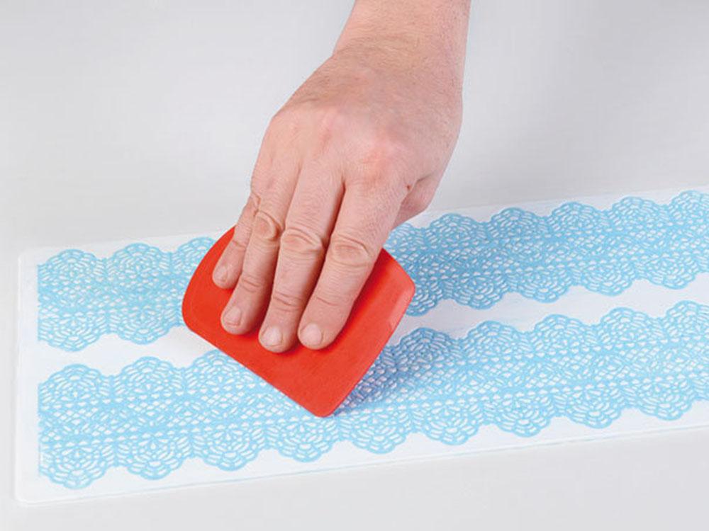 Коврик силиконовый для кружевного декора (айсинга) 400x200 TRD06_1