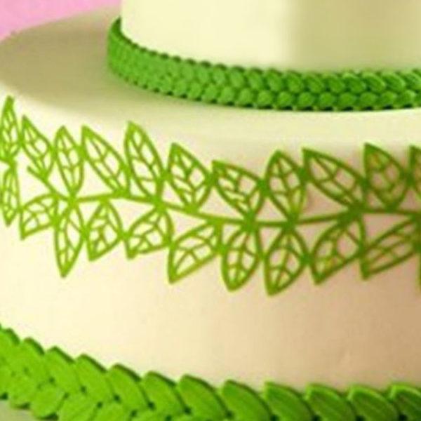 Коврик силиконовый для кружевного декора (айсинга) 80.5x390 SMD07B-torta