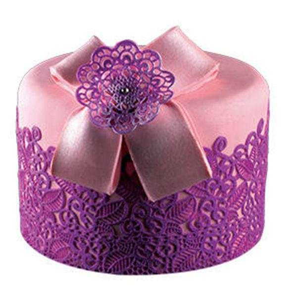 Коврик силиконовый для кружевного декора (айсинга) 80x140 TRD01-торт