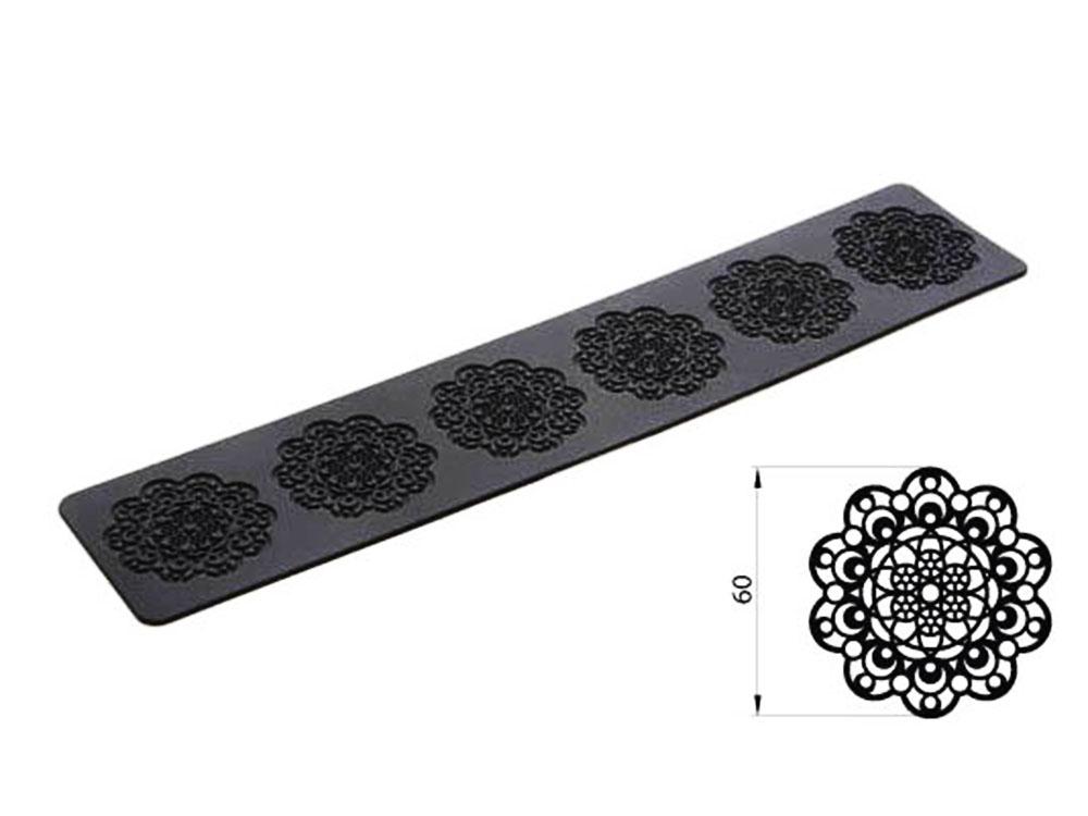 Коврик силиконовый для кружевного декора (айсинга) 80x140 TRD01
