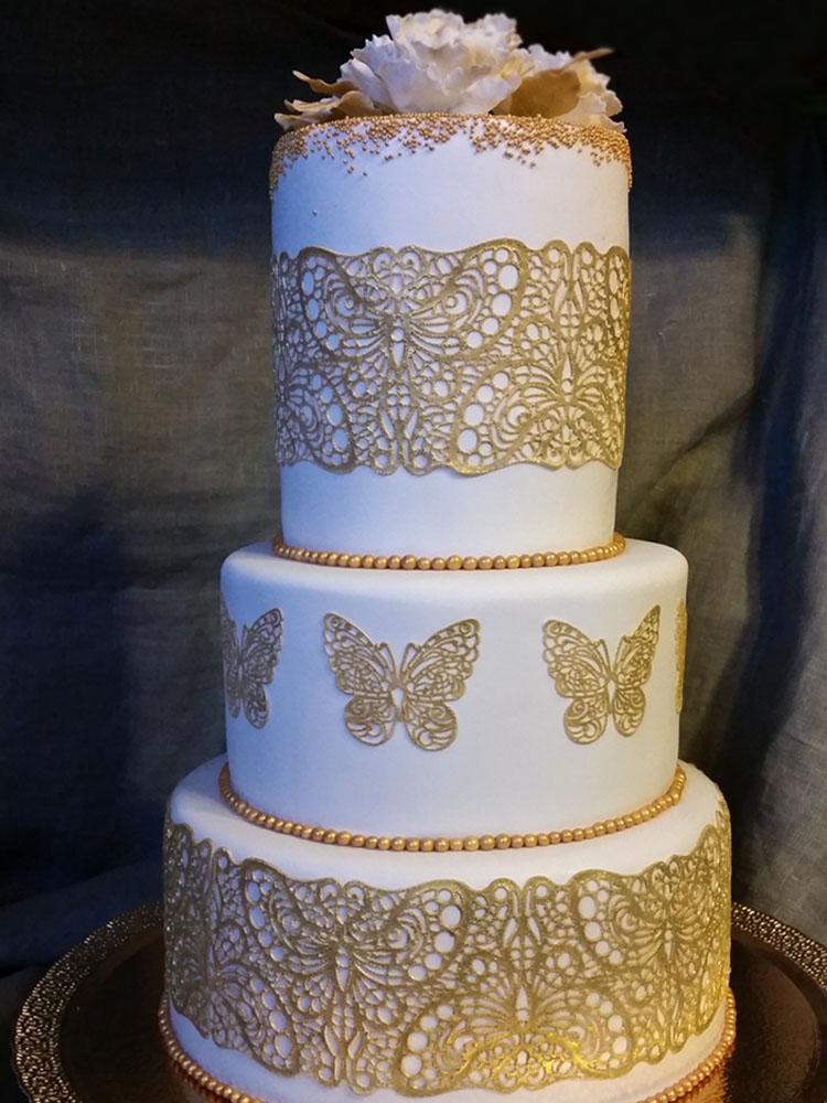 Коврик силиконовый для кружевного декора (айсинга) 80x140 TRD02-торт