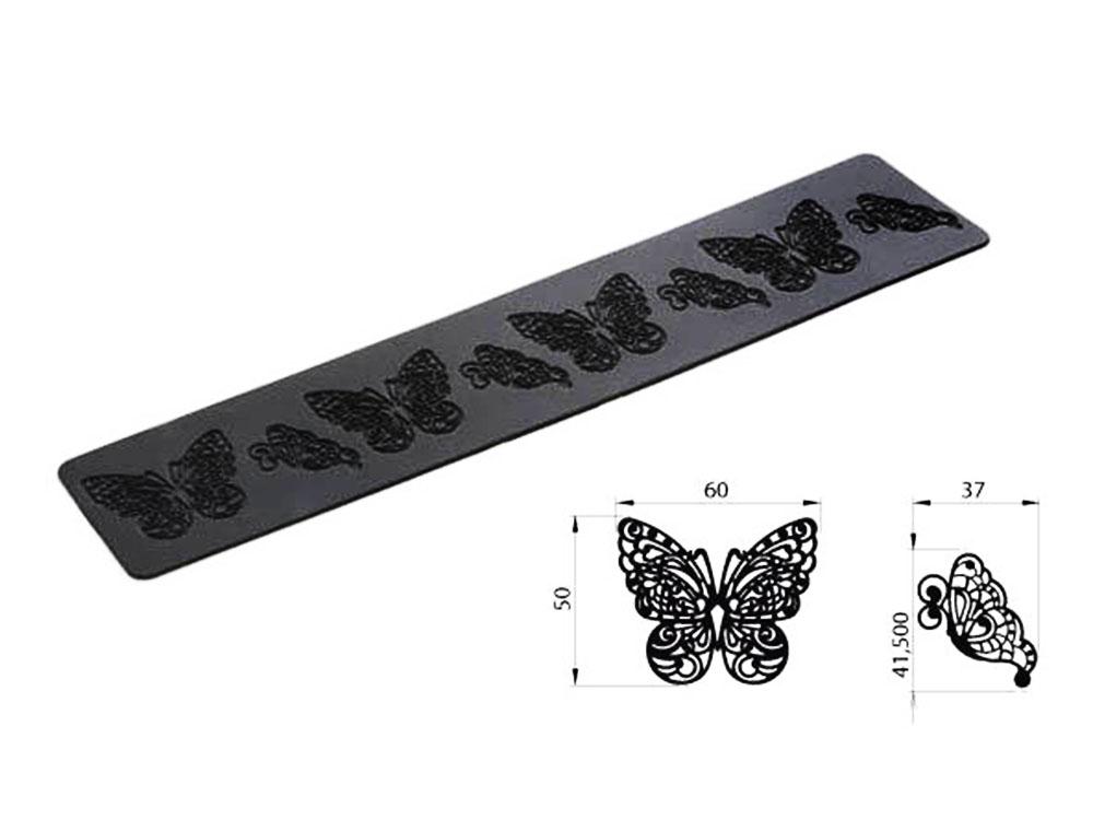 Коврик силиконовый для кружевного декора (айсинга) 80x140 TRD02