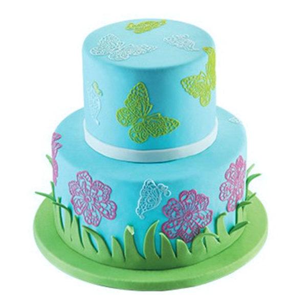 Коврик силиконовый для кружевного декора (айсинга) 80x140 TRD03-торт