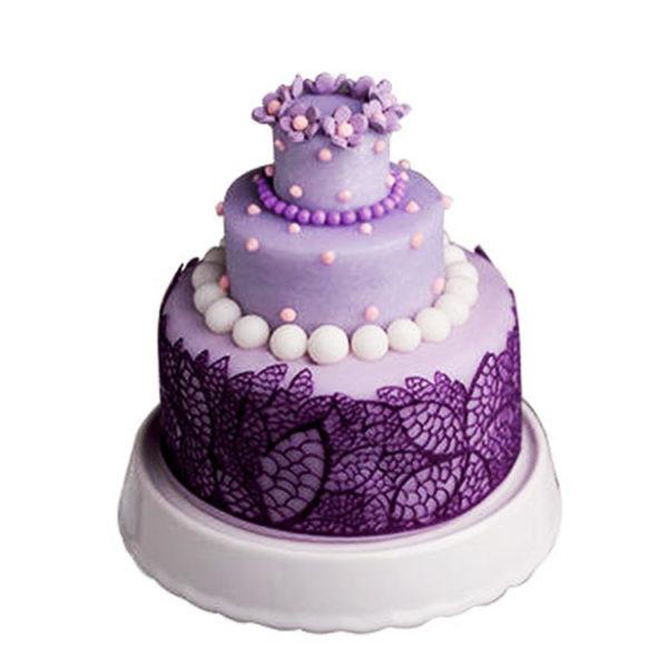 Коврик силиконовый для кружевного декора (айсинга) 80x140 TRD04-торт