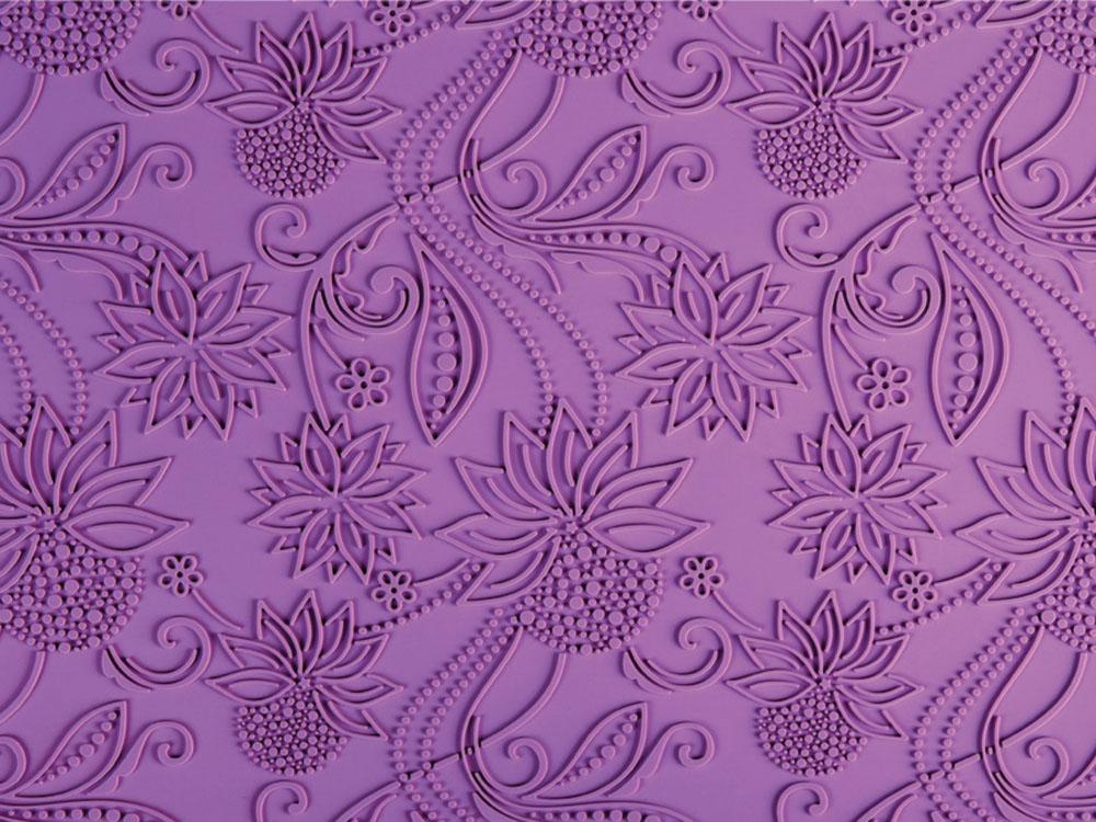 Коврик силиконовый текстурный для декорирования поверхностей TSD17