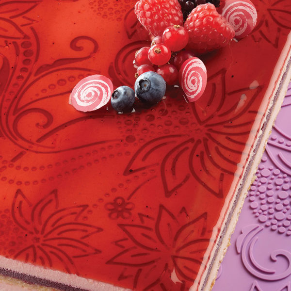 Коврик силиконовый текстурный для декорирования поверхностей TSD17_1