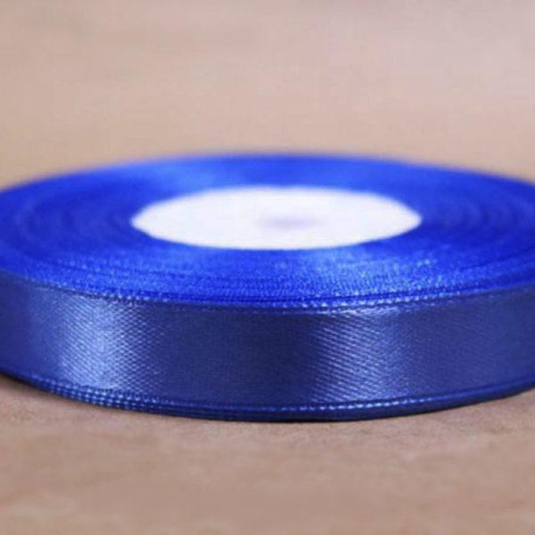Лента для перевязки коробов атласная синяя