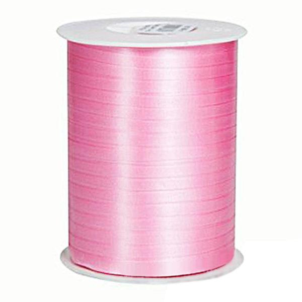 Лента для перевязки коробов полипропиленовая розовая