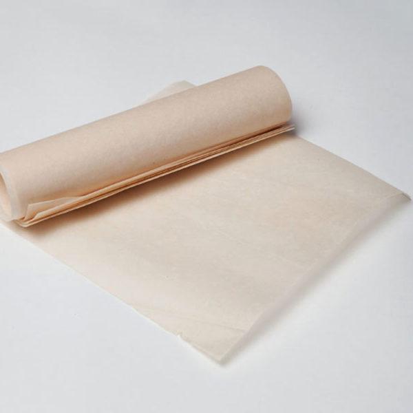Пергамент в листах с двусторонней силиконизацией золотой