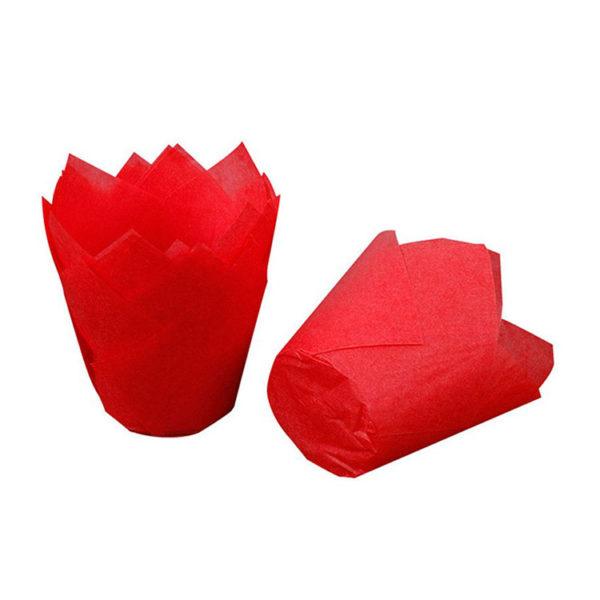 Форма Тюльпан красный