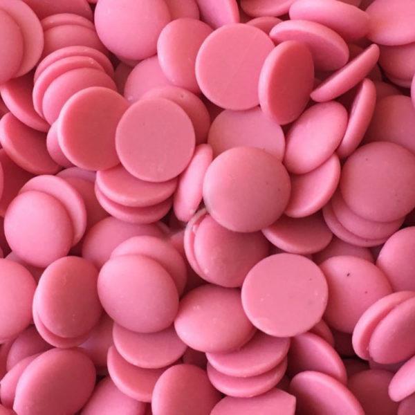 Глазурь ароматизированная в форме дисков Клубника