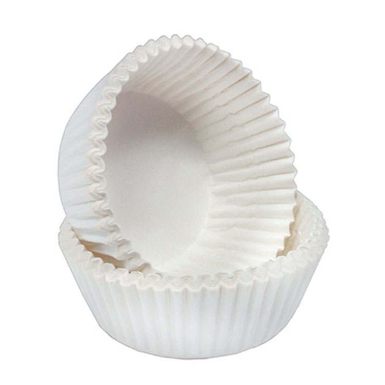 Капсула бумажная белая круглая