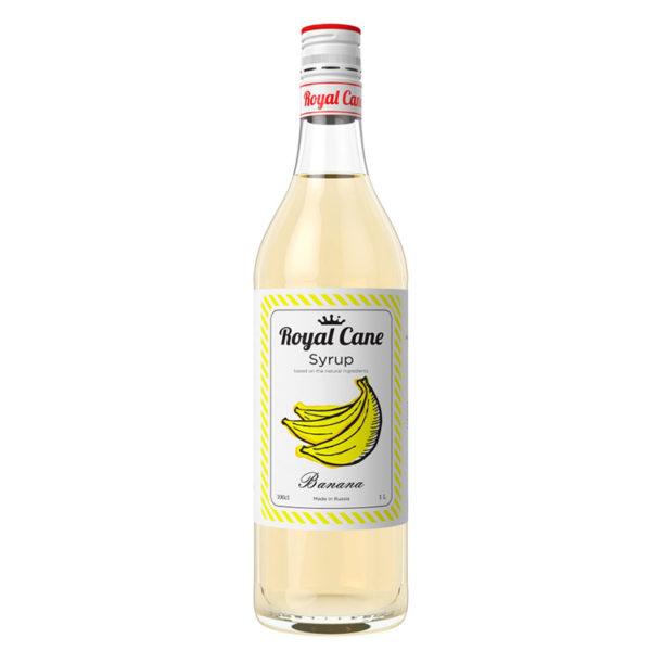 Натуральный сироп Royal Cane Банан