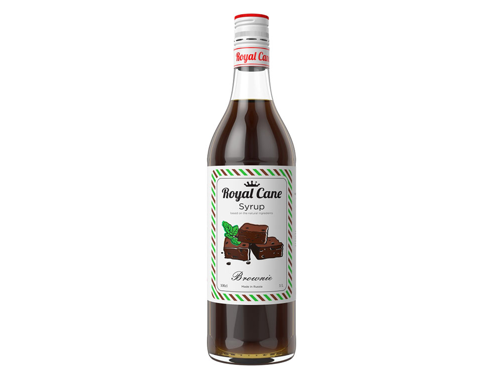 Натуральный сироп Royal Cane Брауни
