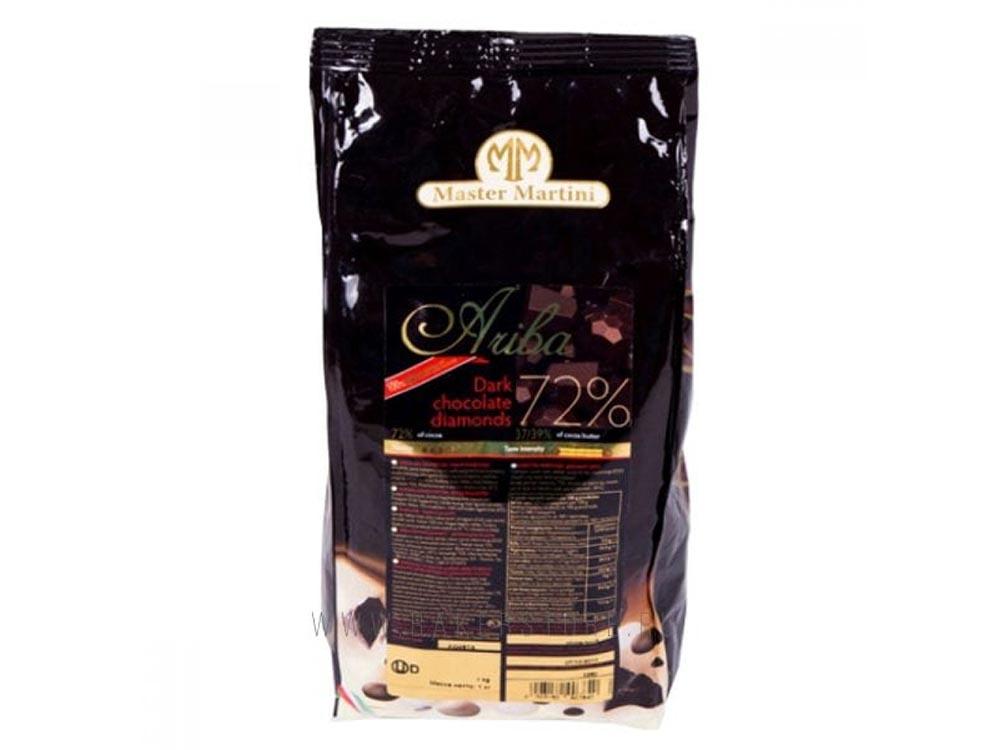 Шоколад натуральный Ariba Fondante Diamante_упаковка