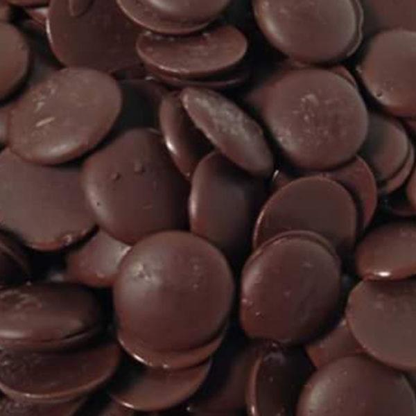 Шоколад натуральный Ariba Fondente Dischi 54 Диски темные 54
