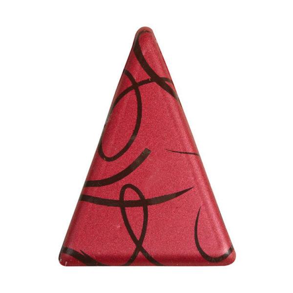 Декоративное украшение для торта из шоколада 55x36 32365 треугольник