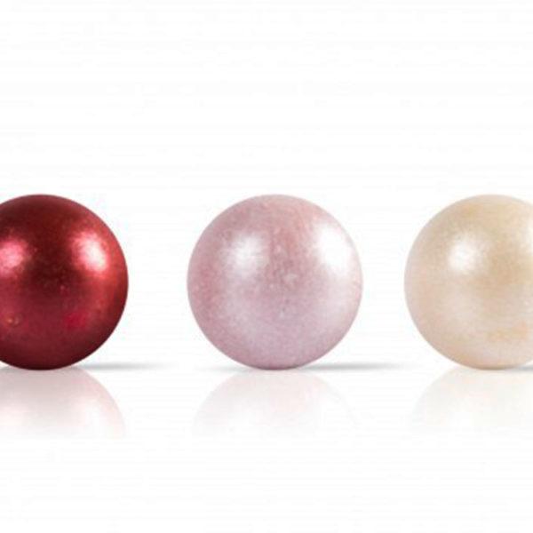 Декоративное украшение из натурального шоколада 77287 Жемчужины mini