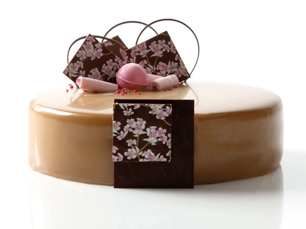 Декоративное украшение из шоколада 35130 Цветущая вишня_1