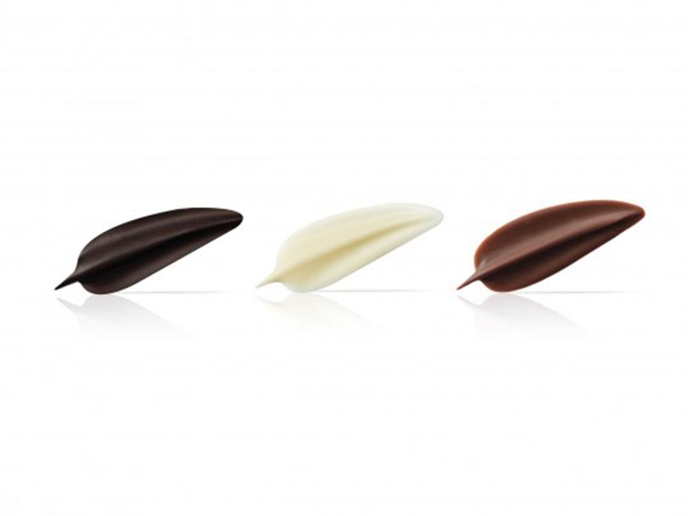 Декоративные украшения из натурального шоколада Elegance
