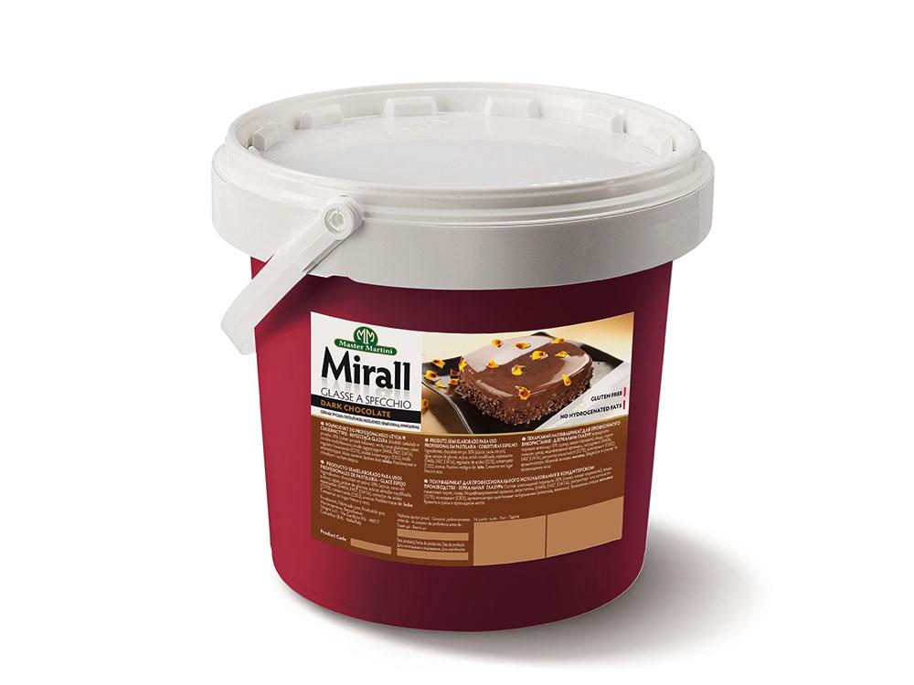 ГлазурьMirall DARK CHOCOLATE ведро 5кг