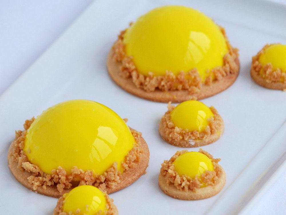 ГлазурьMirall LIMONE лимон пример использования_1