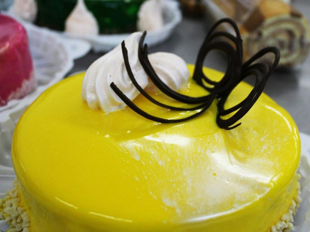 ГлазурьMirall LIMONE лимон пример использования_12