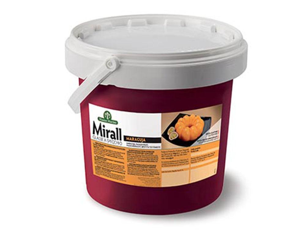 ГлазурьMirall MARACUJA маракуйя ведро 5 кг