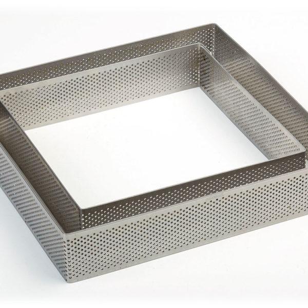 Стальные нержавеющие формы с микроперфорацией Quadrate-microforate-h35
