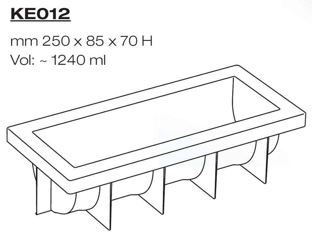 Форма для муссовых тортов KE012_1