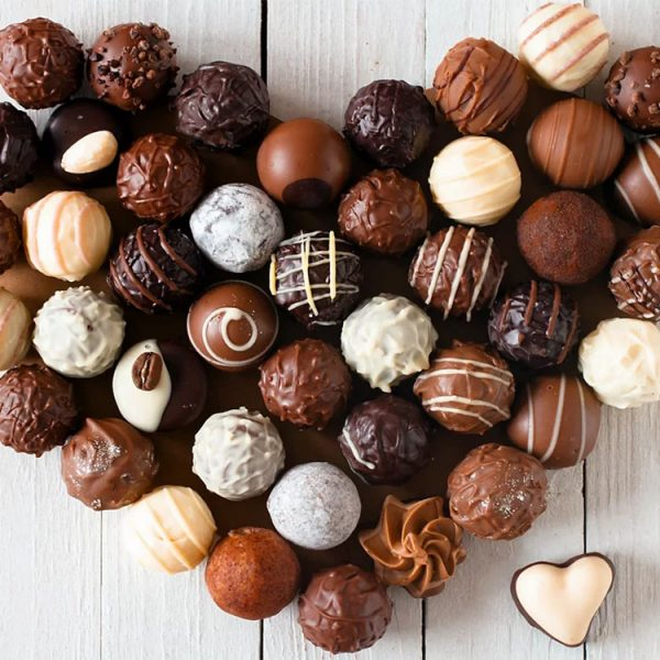 Шоколадные конфеты шар