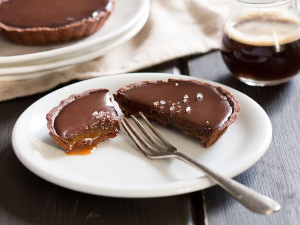 Тарталетка шоколадная минипирожное 2