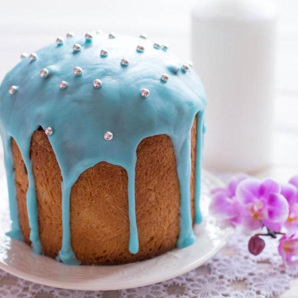 Глазурь сахарная Голубая