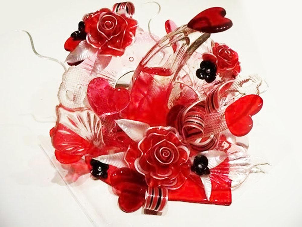 Художественная лепка роз из карамели_1