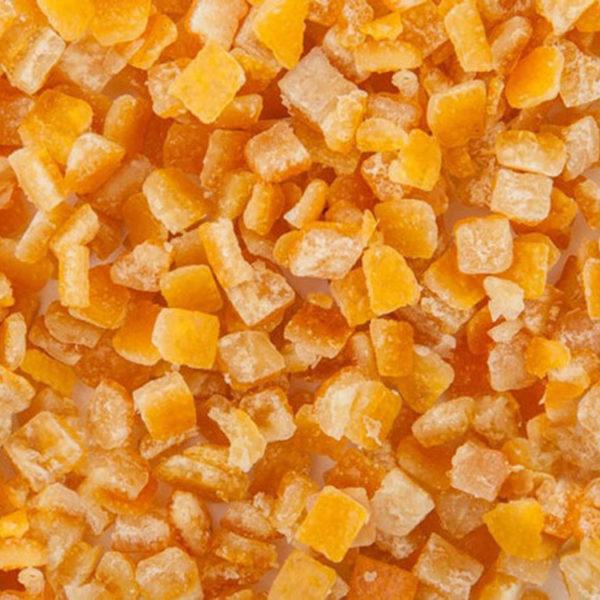 Апельсиновая корочка засахаренная кубиками 6×6мм