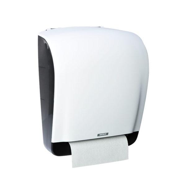 Диспенсер для рулонных полотенец белый 90045
