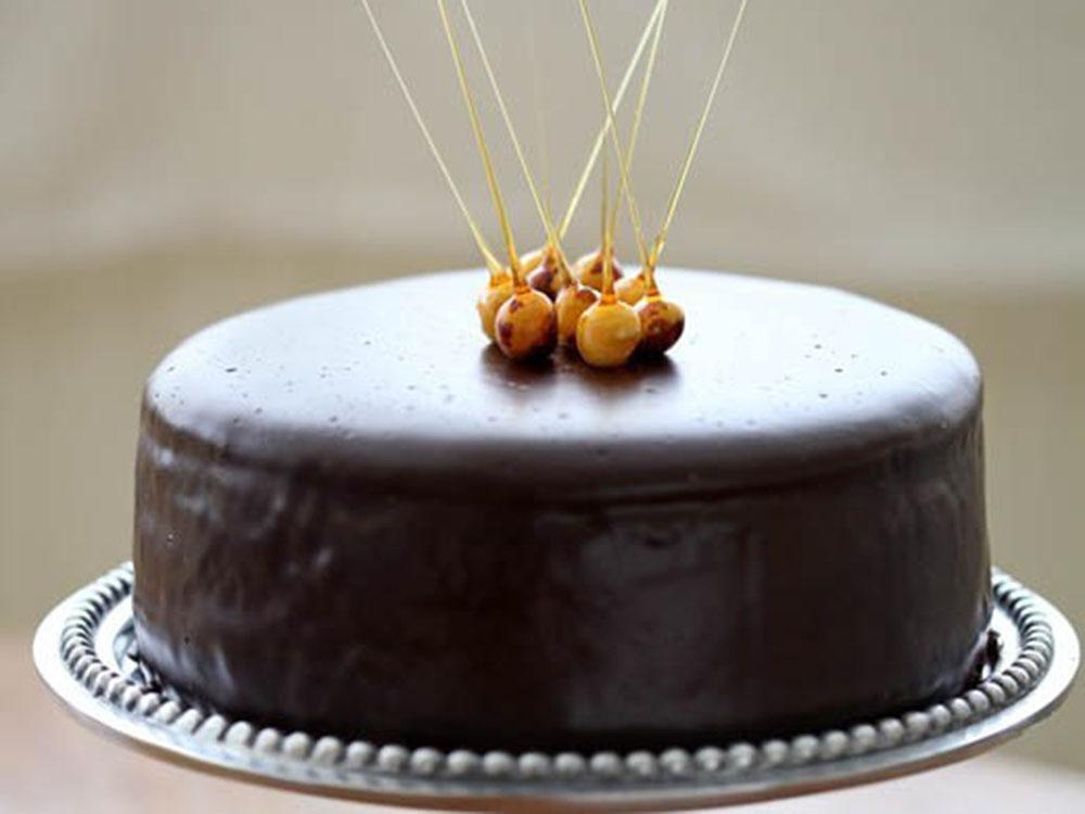 Глазурь для покрытия тортов CARAVELLA Cake Cocoa Черный шоколад