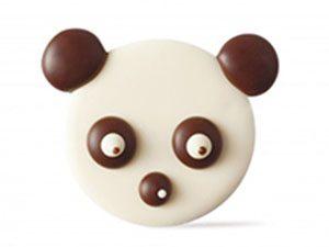 Декоративное украшение из натурального шоколада 77209 Панда