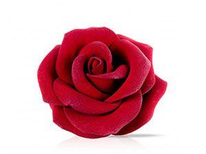 Декоративное украшение из натурального шоколада 77397 Роза