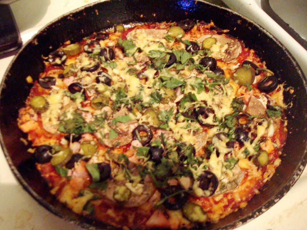Базилик зелень сушеная 25 г_пицца