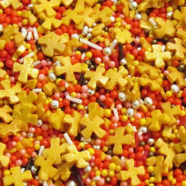 Посыпка кондитерская сахарная Этюд с крестиками